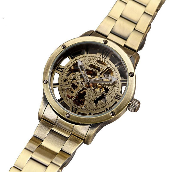 Bronze Steampunk Wrist Watch