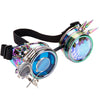 Steampunk Goggles with Spikes and Double Lenses