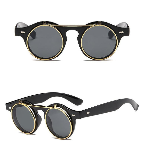 Buy Classic Flip Up Steampunk Sunglasses Online