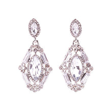 Buy Victorian Princess Earrings With Full Rhinestone Crystal Online