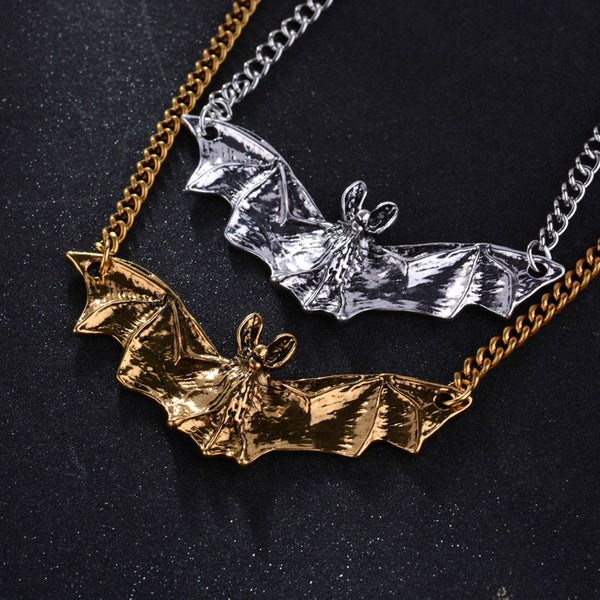 Buy Gothic Bat Pendant Necklace Online