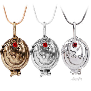 Buy Vampire Necklace With Red Stone Online