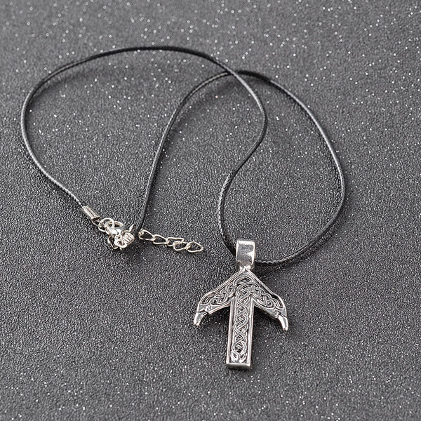 Vikings Necklace With Rune Pendant Amulet