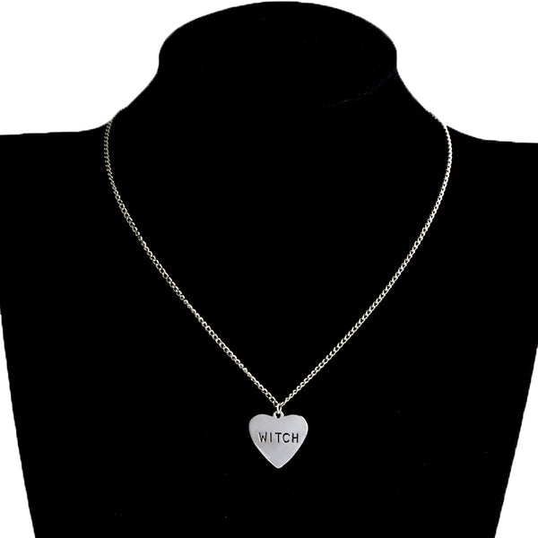 Buy Witch Heart Necklace Online
