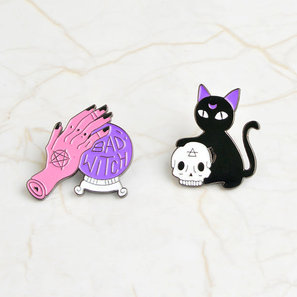 Witch Pin Badge Sets