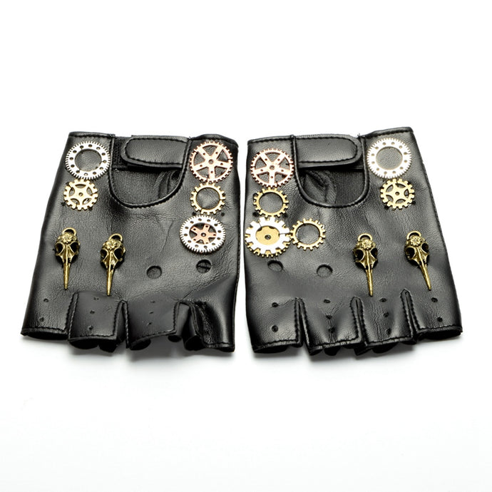 Buy Steampunk Gloves With Gears Online