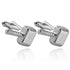 Viking Hammer Metal Cufflinks For Men