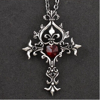 Buy Vampire Blood Cross Pendant Online