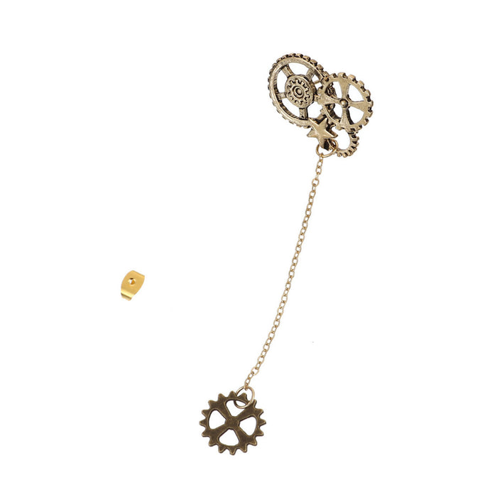 Buy Steampunk Drop Earrings with Gears Online