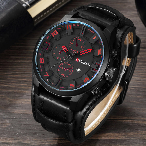 Men's Sports Steampunk Wrist Watch