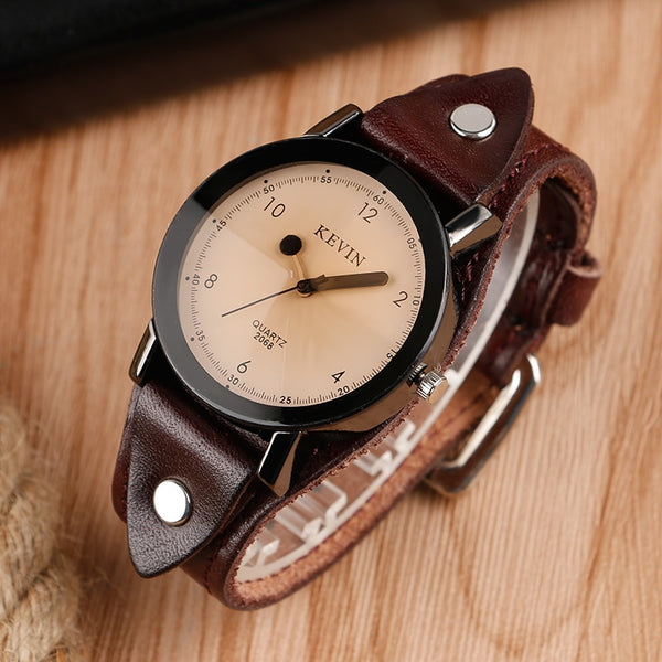 Steampunk Round Classic Quartz Wrist Watch