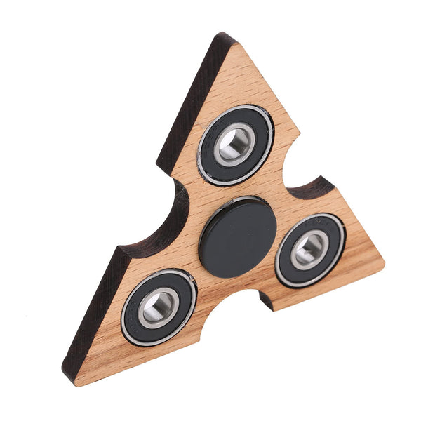 Steampunk Triangle Wooden Fidget Spinner