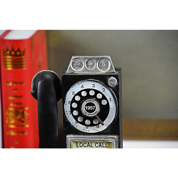 Home Decor Steampunk Vintage Wall Hanging Telephone