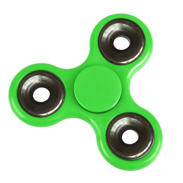 Steampunk Plastic Triangle Fidget Spinner (6 Colors)