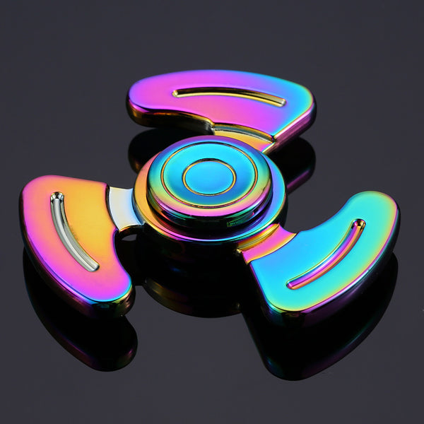 Steampunk High Speed Rainbow Metal Fidget Spinner