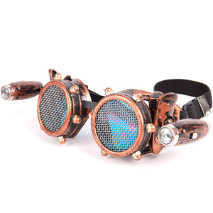 Buy Steampunk Goggles With Lamps Online