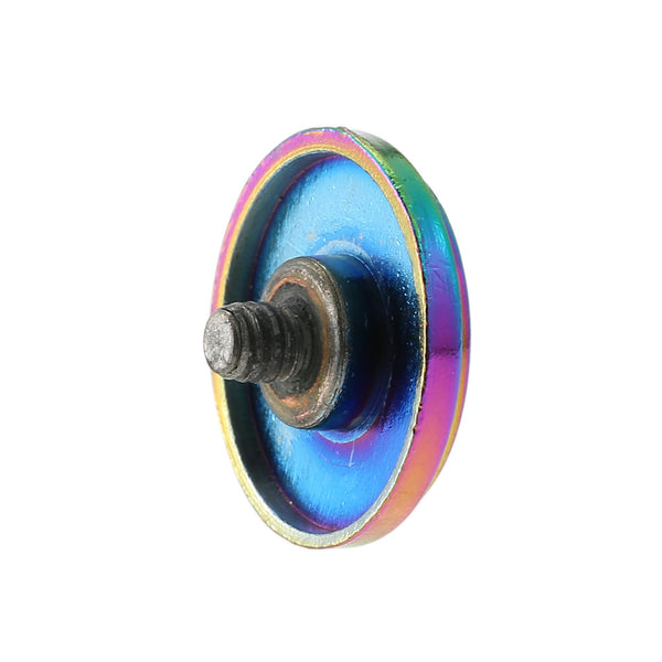 Steampunk Wheel Shape Multicolor Fidget Spinner