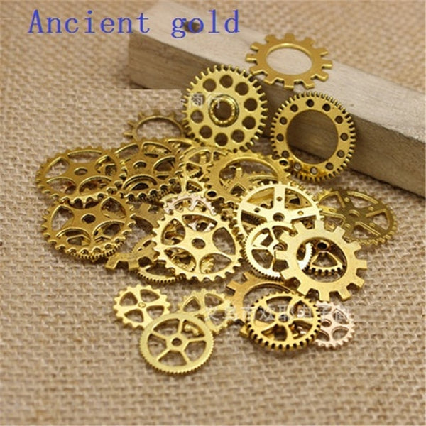 Steampunk Gears & Wheels DIY Jewelry Accessories Charms