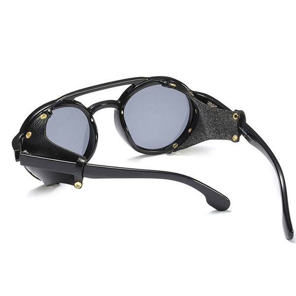 Steampunk Retro Vintage Sunglasses With Shades