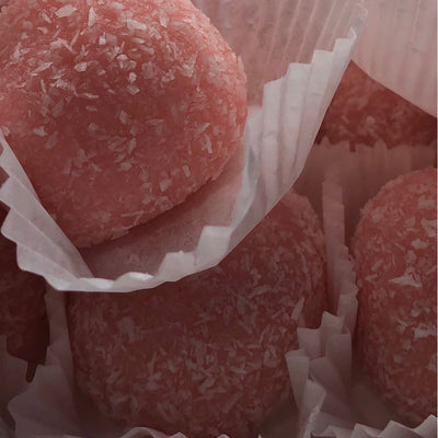 Rose Coconut Laddu