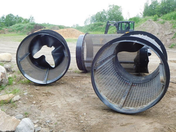 Revolver Topsoil Screeners - Drums
