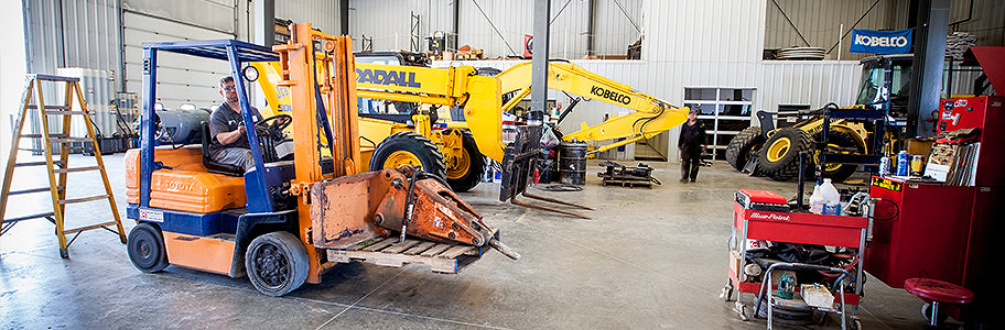 Heavy Equipment Repair Services from Mid Country Machinery