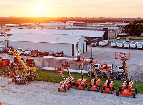 Equipment Rental Locations from Mid Country Machinery
