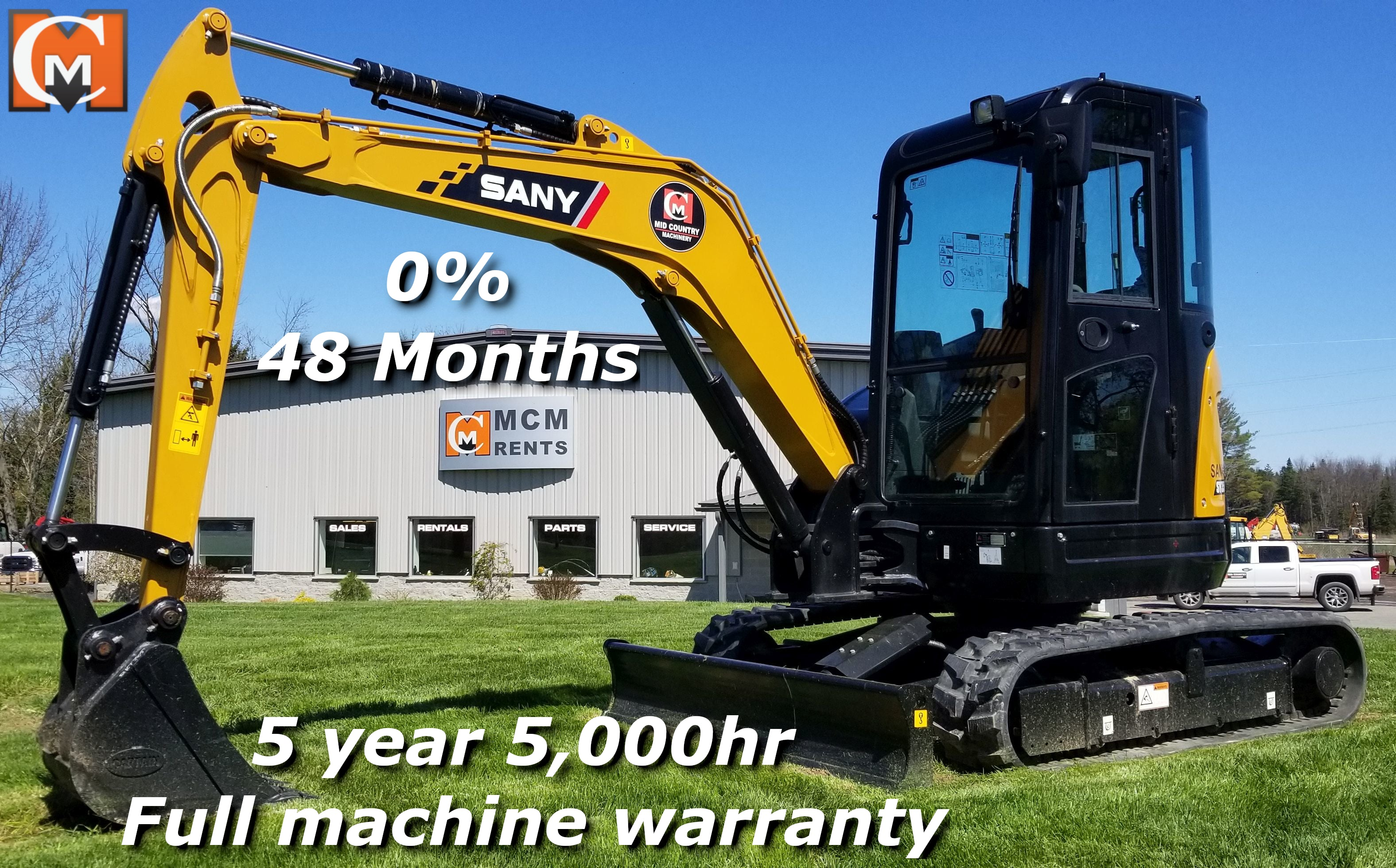 Mid Country Machinery - Sany Excavators