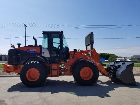 BACKUP HITACHI 2018 ZW150-6 WHEEL LOADER