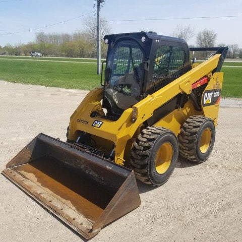 CATERPILLAR 2015 262D SKID STEER