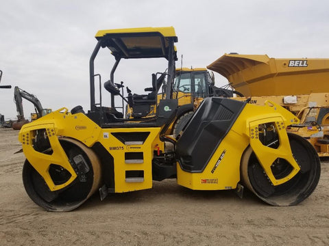 <p>BOMAG  BW 190 AD-5 TANDEM VIBRATORY ROLLER</p>