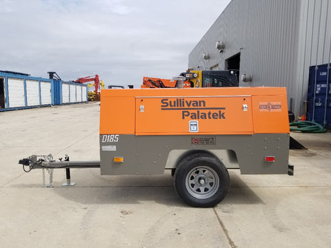 SULLIVAN 2019 D185PIZ4 AIR COMPRESSOR