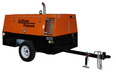 Air Compressor Trailer 375CFM Rental