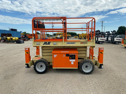 JLG 260MRT RT SCISSOR LIFT W/ OUT RIGGERS