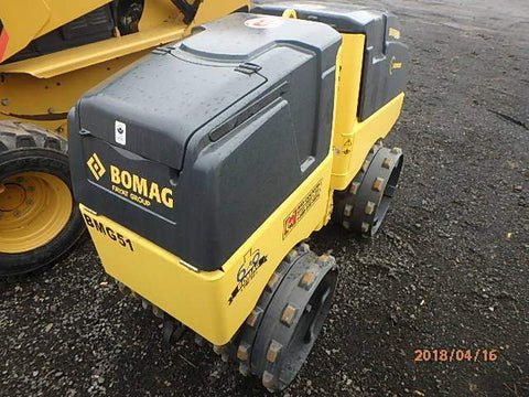 BOMAG 2018 BMP8500 SELF-PROPELLED ROLLER