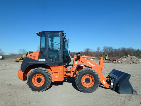 HITACHI 2020 ZW80-5B WHEEL LOADER