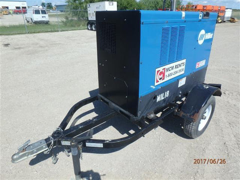 MILLER BIG BLUE 400D WELDER CC/CV