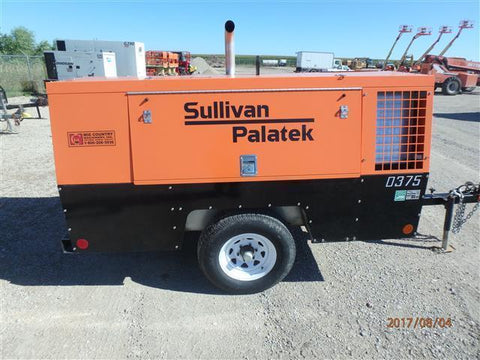 SULLIVAN 2015 D375PDJD AIR COMPRESSOR