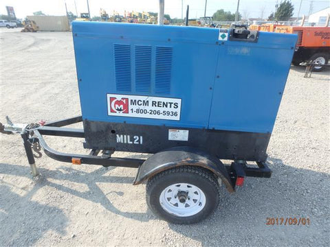 <p>MILLER BIG BLUE 400D WELDER CC/CV</p>