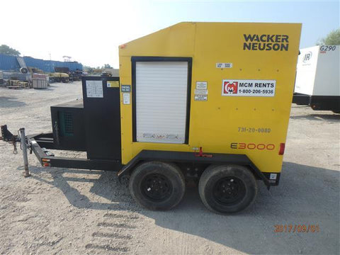 WACKER NEUSON E3000 PORTABLE GROUND HEATER