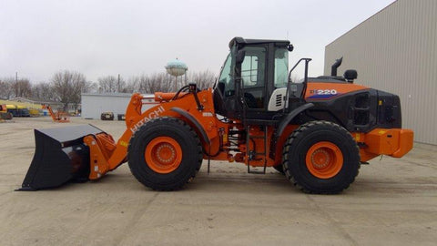 HITACHI 2020 ZW220-6 WHEEL LOADER