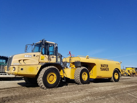 Haul Truck Water Wagon Rental