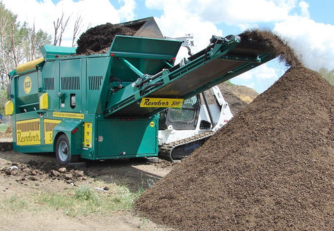 Top Soil Screener Trommel Rental