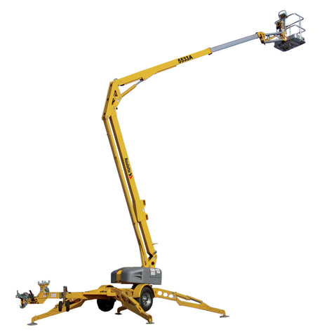 Towable Boom Lift 55'