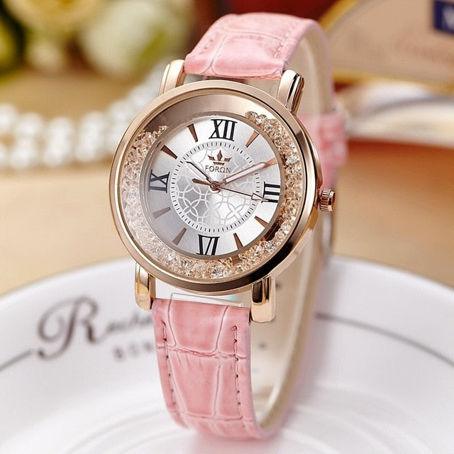 New Fashion Ladies Dress Rhinestone Watch