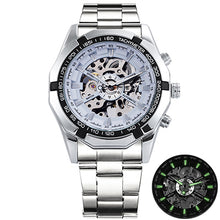 Load image into Gallery viewer, Winner Skeleton Mens Watches