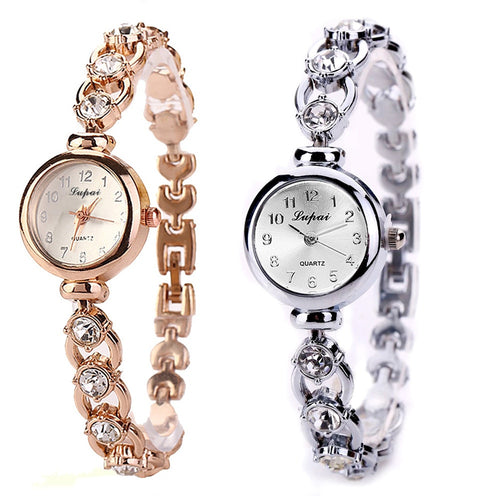 Luxury Stainless Steel Ladies Watch