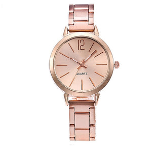Quartz Stainless Steel Ladies Watches
