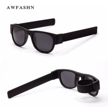 Load image into Gallery viewer, 2019 New Fashion Foldable Polarized Sunglasses for Women & Men Slappable Bracelet Sun Glasses UV400 Protection