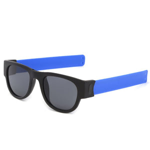 2019 New Fashion Foldable Polarized Sunglasses for Women & Men Slappable Bracelet Sun Glasses UV400 Protection